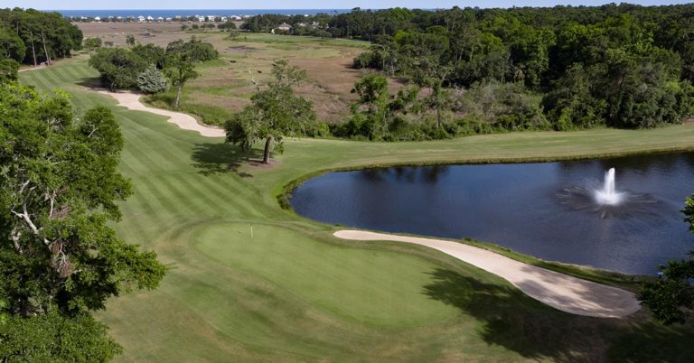 Pawleys Plantation Hole 18
