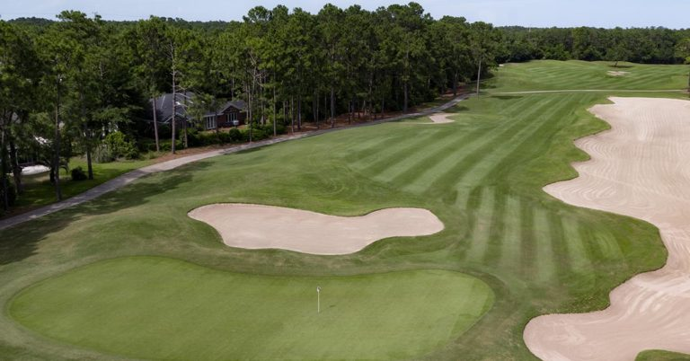Pawleys Plantation Hole 4