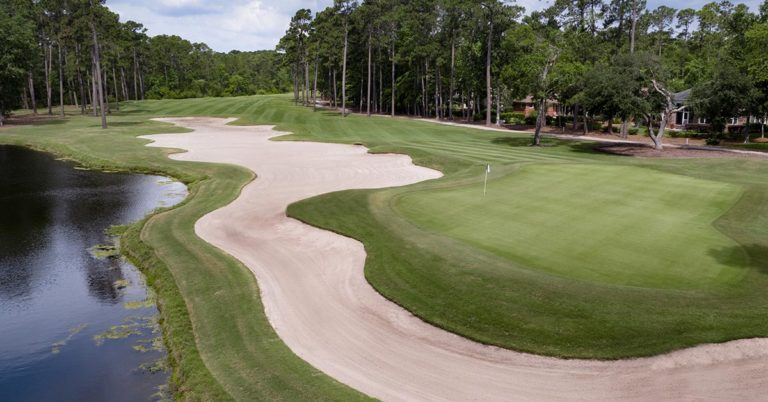 Pawleys Plantation Hole 8