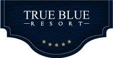 True Blue Resort Logo