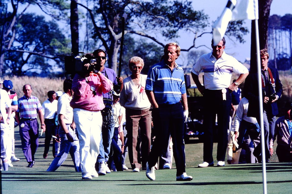 A Trip Down Memory Lane: Jack Nicklaus Building and Opening Pawleys Plantation