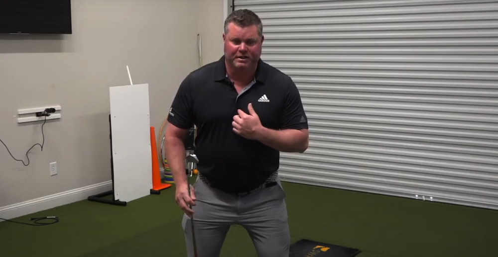Swing Tip from the Dustin Johnson Golf School: The Two Centers of Your Golf Swing